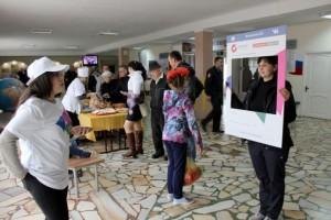 В День выборов сотни старооскольцев приняли участие в конкурсе «Голосовач»