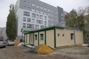 Завершается строительство модульного здания для томографа в Старом Осколе