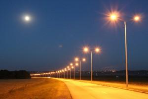 Энергетики протестировали уличные светильники
