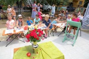 В Старом Осколе открылась творческая площадка для детей