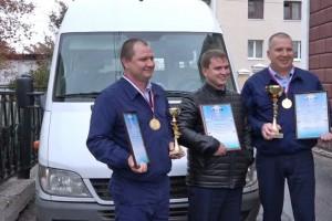 водители автобусов, лучший водитель, областной конкурс