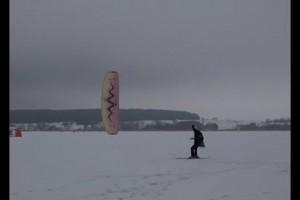 Соревнования по сноукайтингу прошли в Старом Осколе