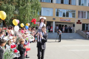 Подарки ОЭМК школе № 28 к новому учебному году…