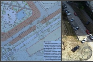 ОНФ добились увеличения парковочных мест в благоустраиваемом дворе в Старом Осколе