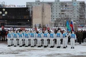Участники комбинированного марш-броска посетили Старый Оскол
