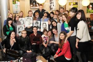 НАТУРАЛЬНЫЙ ОБМЕН (Сергей Баловин в Старом Осколе) Ваш портрет в обмен... на все, что угодно!!!