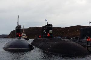 На Северный флот для испытаний прибыла ДЭПЛ «Старый Оскол», построенная для Черноморского флота