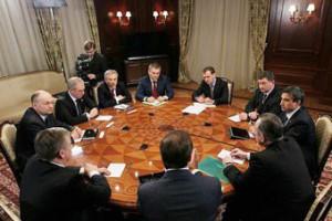 Евгений Савченко встретился с президентом России Дмитрием Медведевым